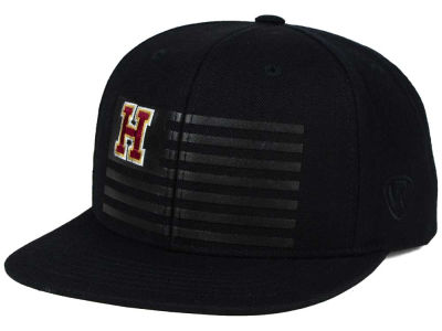 Harvard Crimson Top of the World NCAA Saluter Snapback Hat