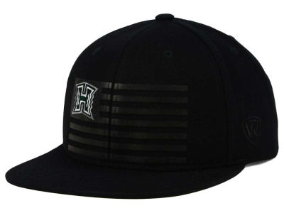 Hawaii Warriors Top of the World NCAA Saluter Snapback Hat