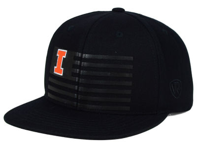 Illinois Fighting Illini Top of the World NCAA Saluter Snapback Hat