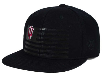 Indiana Hoosiers Top of the World NCAA Saluter Snapback Hat