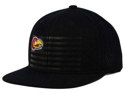 Kansas Jayhawks Top of the World NCAA Saluter Snapback Hat
