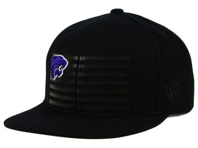 Kansas State Wildcats Top of the World NCAA Saluter Snapback Hat
