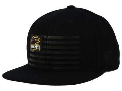 LA Monroe Warhawks Top of the World NCAA Saluter Snapback Hat