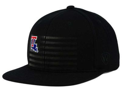 Louisiana Tech Bulldogs Top of the World NCAA Saluter Snapback Hat