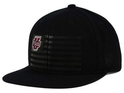 Massachusetts Minutemen Top of the World NCAA Saluter Snapback Hat
