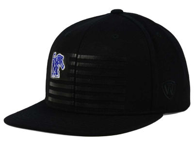 Memphis Tigers Top of the World NCAA Saluter Snapback Hat