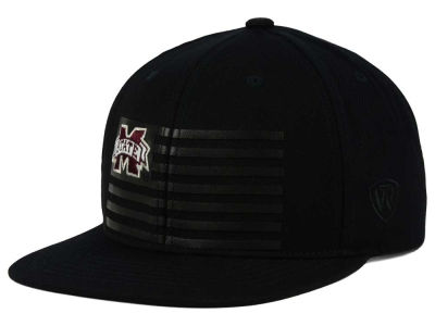 Mississippi State Bulldogs Top of the World NCAA Saluter Snapback Hat