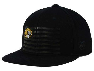 Missouri Tigers Top of the World NCAA Saluter Snapback Hat