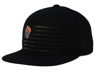 Oklahoma State Cowboys Top of the World NCAA Saluter Snapback Hat