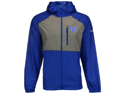 Kentucky Wildcats Columbia NCAA Men's Flash Forward Windbreaker Jacket
