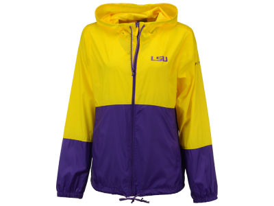 LSU Tigers Columbia NCAA Women's Flash Forward Windbreaker Jacket