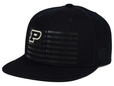 Purdue Boilermakers Top of the World NCAA Saluter Snapback Hat