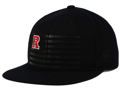 Rutgers Scarlet Knights Top of the World NCAA Saluter Snapback Hat