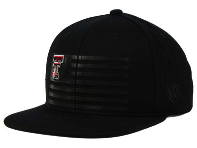 Texas Tech Red Raiders Top of the World NCAA Saluter Snapback Hat