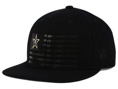 Vanderbilt Commodores Top of the World NCAA Saluter Snapback Hat