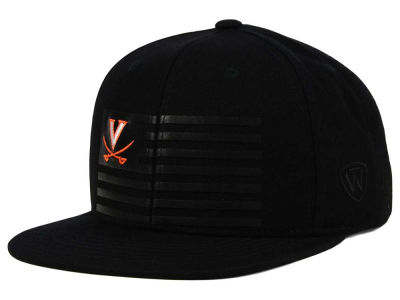 Virginia Cavaliers Top of the World NCAA Saluter Snapback Hat