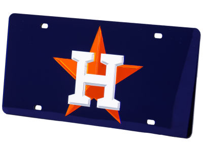 Houston Astros Acrylic Laser Tag