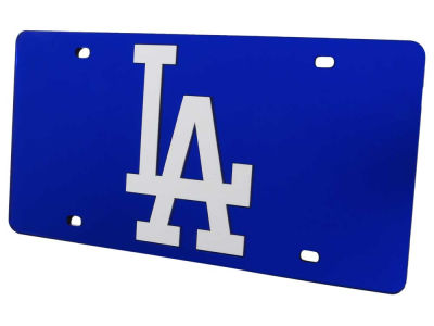 Los Angeles Dodgers Acrylic Laser Tag