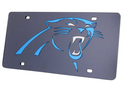 Carolina Panthers Acrylic Laser Tag
