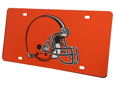 Cleveland Browns Acrylic Laser Tag