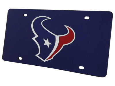 Houston Texans Acrylic Laser Tag