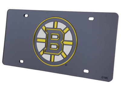 Boston Bruins Acrylic Laser Tag