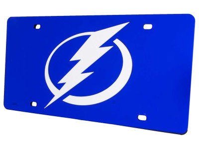 tampa bay lightning acrylic laser tag - Miami Heat License Plate Frame