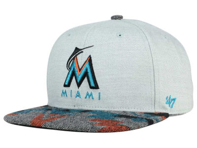 Miami Marlins '47 MLB Armadillo '47 CAPTAIN Cap