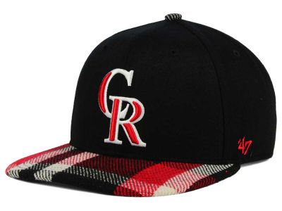 Colorado Rockies '47 MLB South Gate Snapback Cap