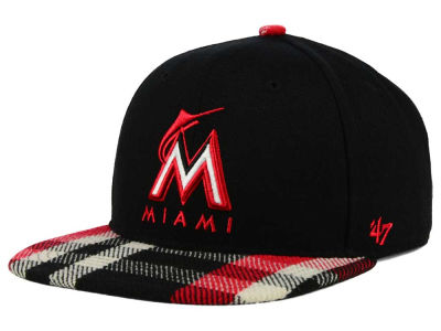 Miami Marlins '47 MLB South Gate Snapback Cap