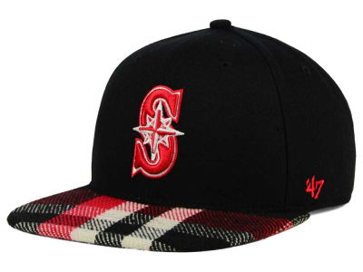 Seattle Mariners '47 MLB South Gate Snapback Cap