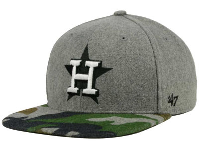 Houston Astros '47 MLB '47 Backwoods Snapback Cap