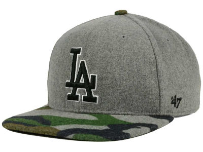 Los Angeles Dodgers '47 MLB '47 Backwoods Snapback Cap