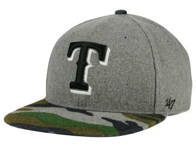 Texas Rangers '47 MLB '47 Backwoods Snapback Cap