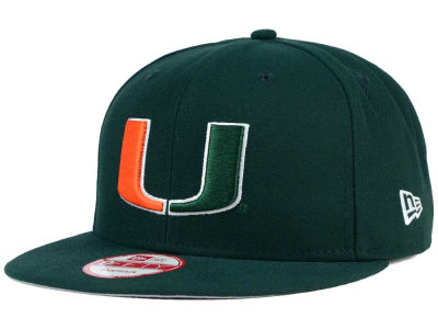 Miami Hurricanes New Era NCAA City Pack 9FIFTY Snapback Cap