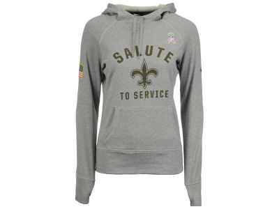 New Orleans Saints Nike NFL Women's Salute to Service Hoodie