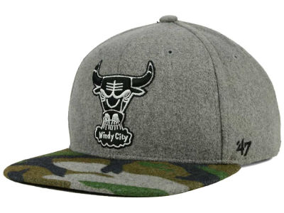 Chicago Bulls '47 NBA HWC '47 Backwoods Snapback Cap