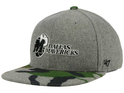 Dallas Mavericks '47 NBA HWC '47 Backwoods Snapback Cap