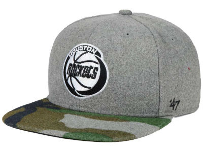 Houston Rockets '47 NBA HWC '47 Backwoods Snapback Cap