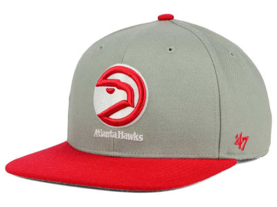 Atlanta Hawks '47 NBA HWC '47 Gray Sure Shot Snapback Cap