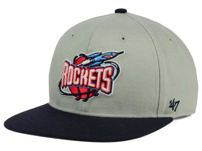 Houston Rockets '47 NBA HWC '47 Gray Sure Shot Snapback Cap