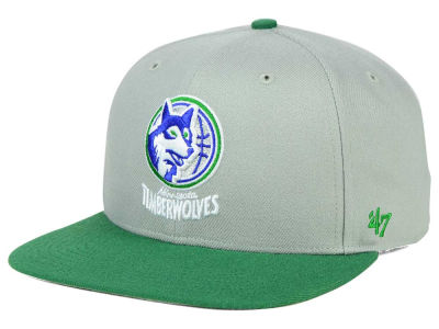 Minnesota Timberwolves '47 NBA HWC '47 Gray Sure Shot Snapback Cap