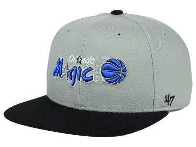 Orlando Magic '47 NBA HWC '47 Gray Sure Shot Snapback Cap