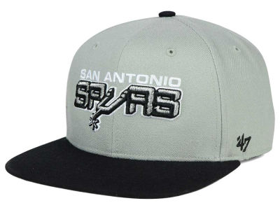San Antonio Spurs '47 NBA HWC '47 Gray Sure Shot Snapback Cap