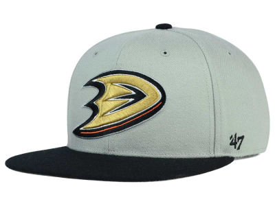 Anaheim Ducks '47 NHL '47 Gray Sure Shot Snapback Cap