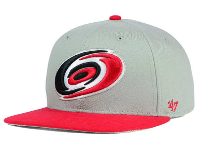 Carolina Hurricanes '47 NHL '47 Gray Sure Shot Snapback Cap