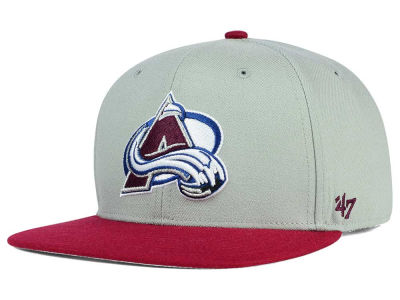 Colorado Avalanche '47 NHL '47 Gray Sure Shot Snapback Cap