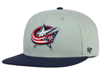 Columbus Blue Jackets '47 NHL '47 Gray Sure Shot Snapback Cap