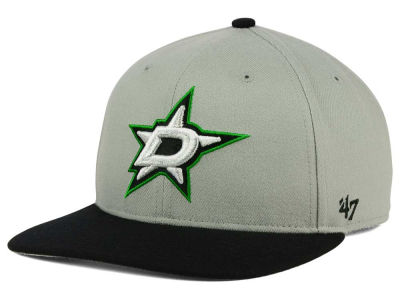 Dallas Stars '47 NHL '47 Gray Sure Shot Snapback Cap