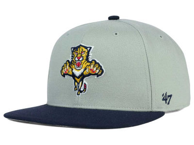 Florida Panthers '47 NHL '47 Gray Sure Shot Snapback Cap